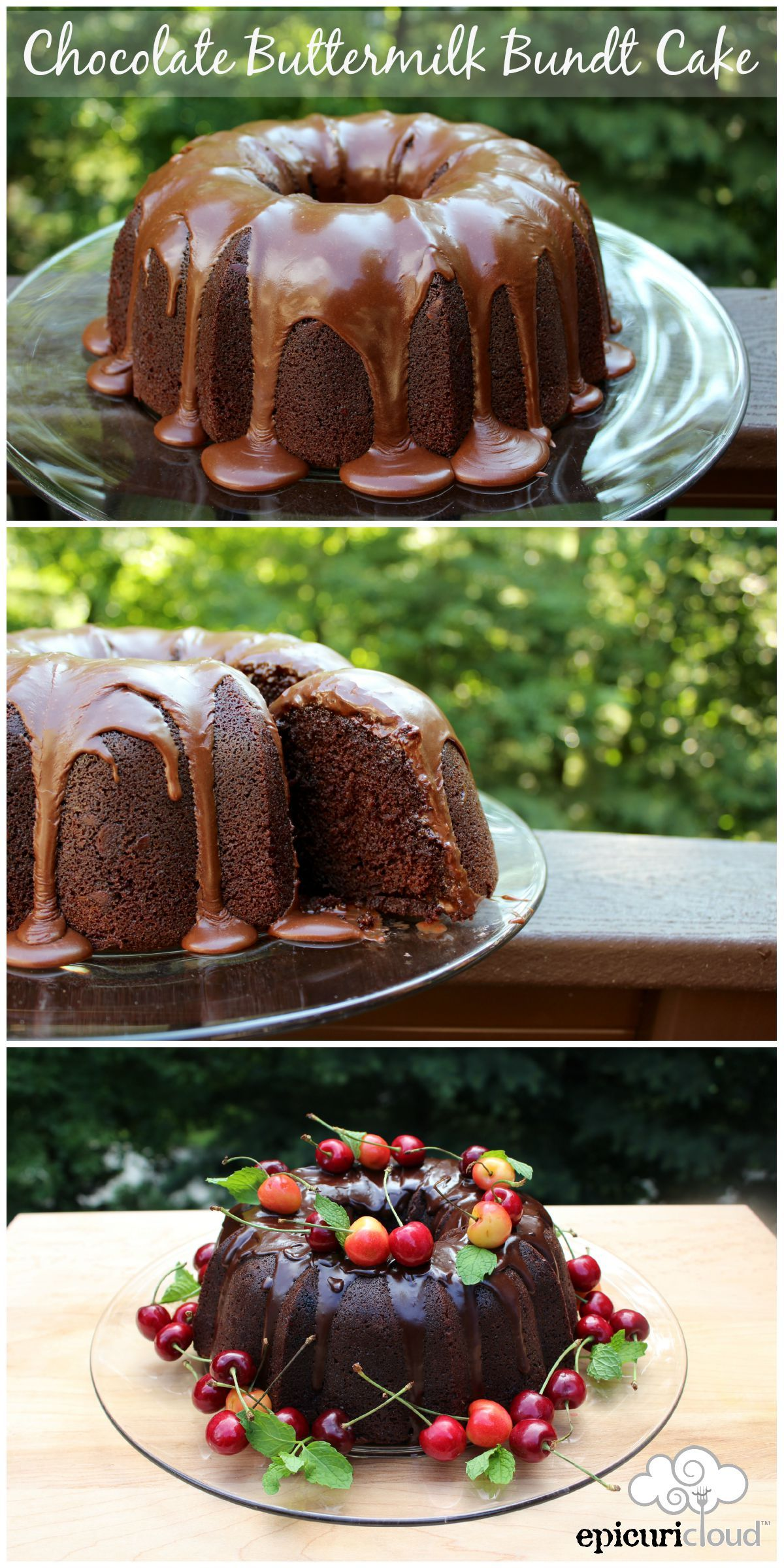 Chocolate Buttermilk Bundt Cake Epicuricloud Tina Verrelli Recipe Super Moist Chocolate Cake Chocolate Bundt Cake Bundt Cakes Recipes
