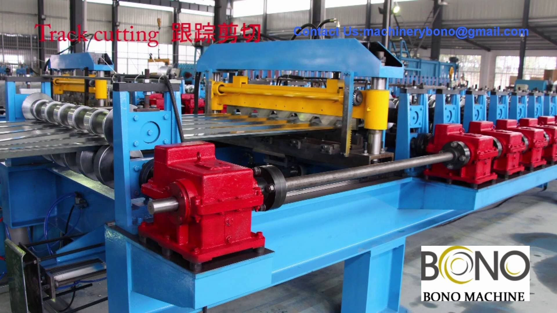 Roof Panel Roll Forming Machine China Paneling Construction Business