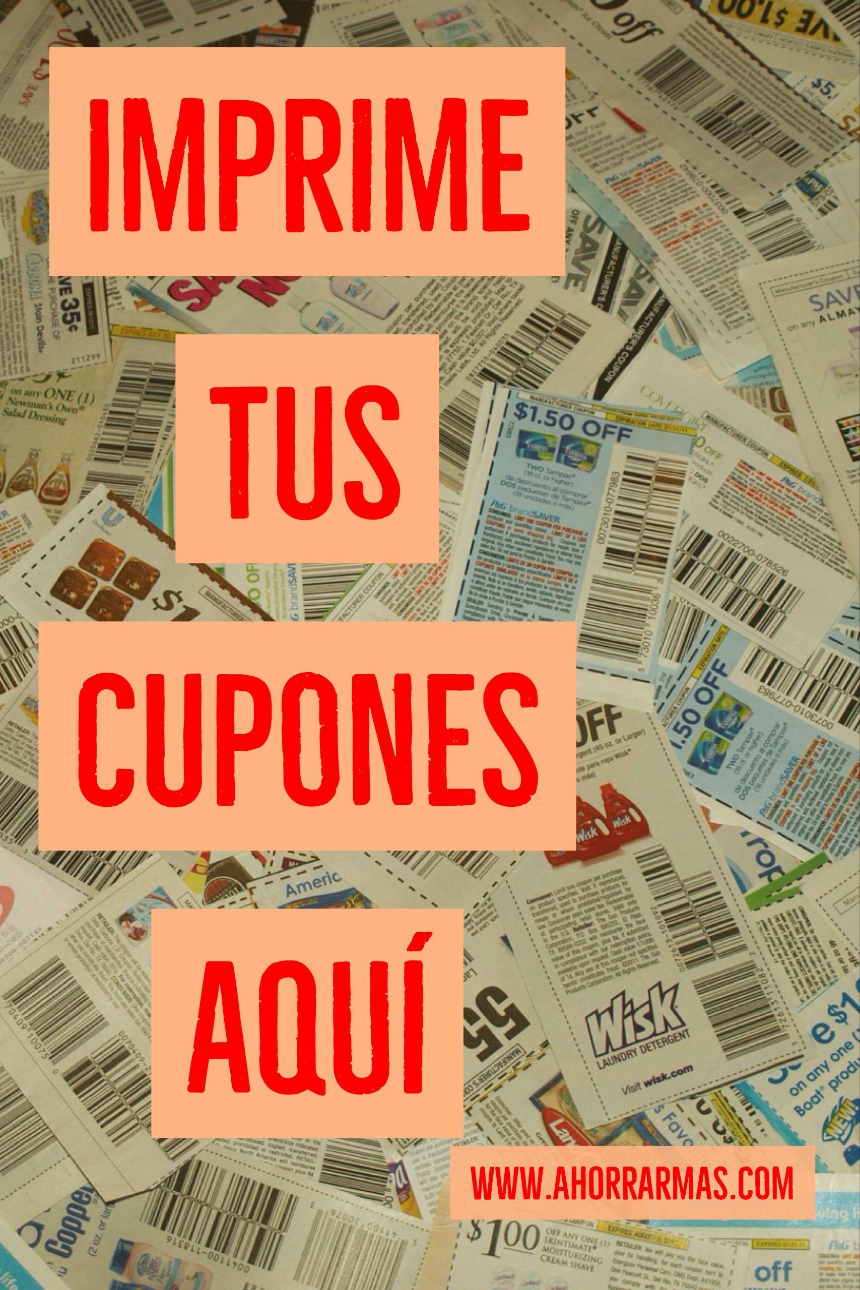 Cupones Para Imprimir Ahorrar Mas Cupones Para Imprimir Cupones De Descuento Gratis Cupones Gratis