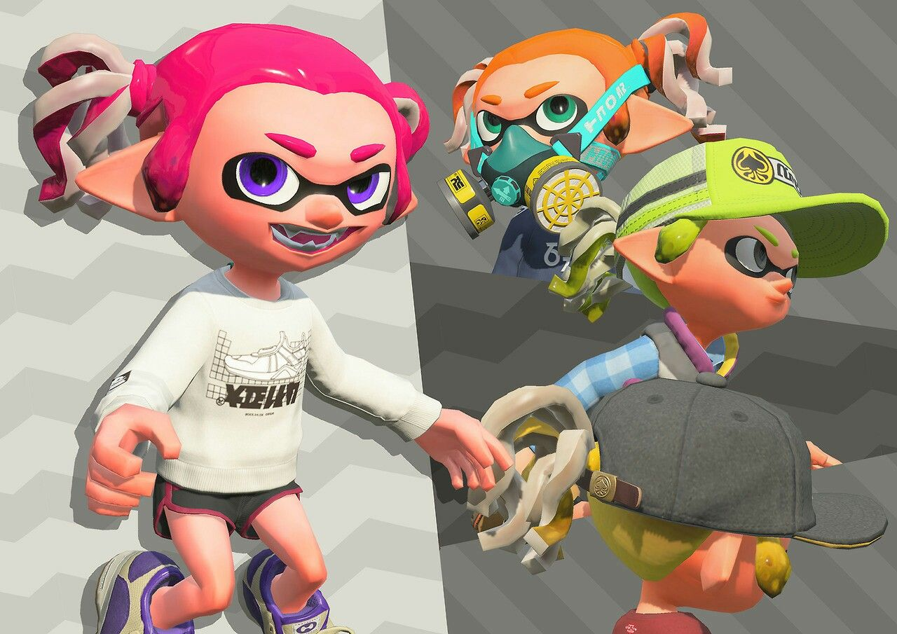 New Hair New Splatoon 2 Comics Artwork Nintendo Splatoon