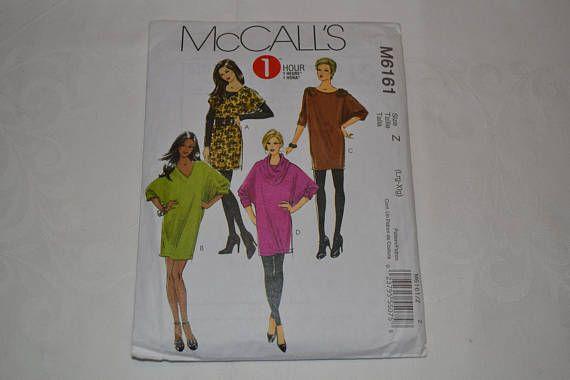 McCalls M6161 Dress Sewing Pattern Cut to Size XL 20/22   Adaptive ...