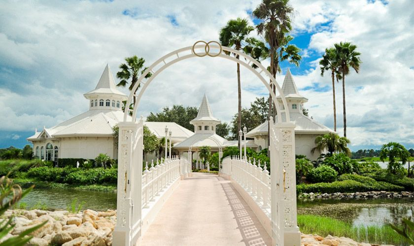 Disneys Wedding Pavilion What The Outside Looks Like The Windows Have Little Cinderella