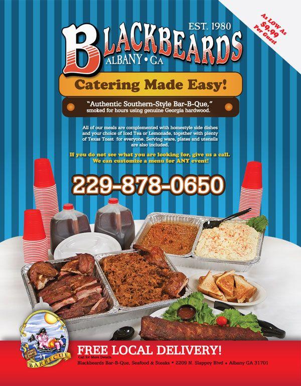 Albany Ga Restaurants Catering Menu