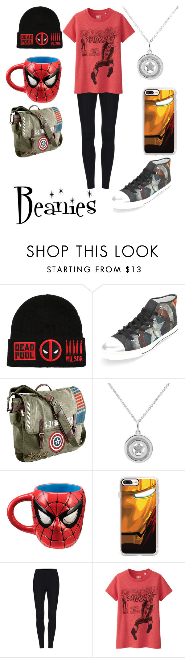 """""""Marvel is bae!!!❤❤"""" by butterflykiss0078 ❤ liked on Polyvore featuring Marvel, Casetify and Uniqlo"""