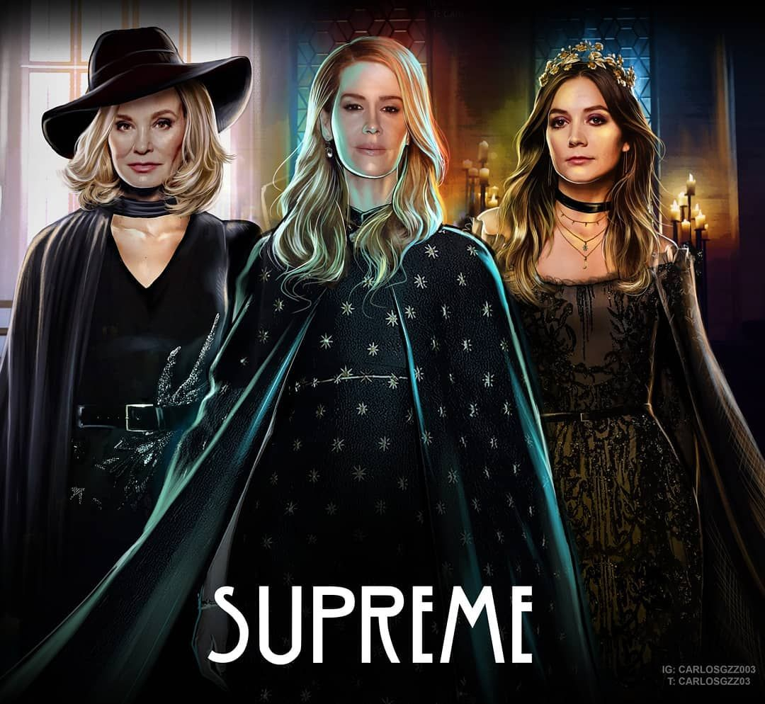 """Carloz Gzz on Instagram: """"Whose your Favorite SUPREME? Past. Present. Future. ������ ART by Me� Just a few More days Left to ORDER My AHS CALENDAR �!Including all…"""""""