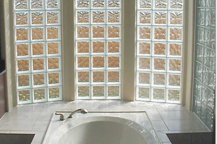 Beautiful Installing Glass Block Windows In A Basement