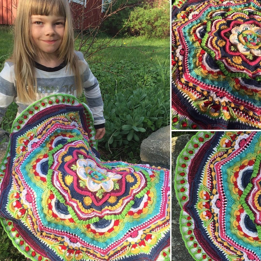 ahohann - #mandalamadness #part10 #crocheting #crochet #crochetmandala #virkkaus #mandala #cal #mandalamadnesscal #handwork #diy #käsityö #käsintehty #itsetehty