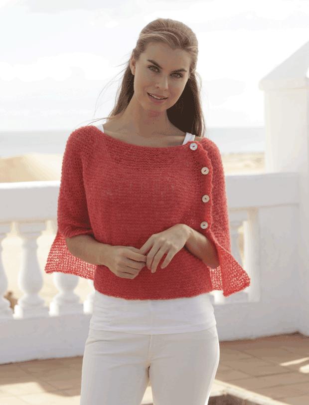 Strik den fineste poncho | Pinterest | Amber taylor, Knitting ...