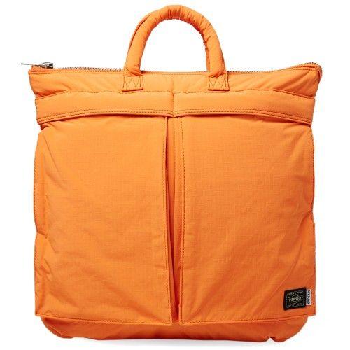 fac84ebb9a Kaptain Sunshine x Head Porter 2 Way Helmet Bag (Orange)
