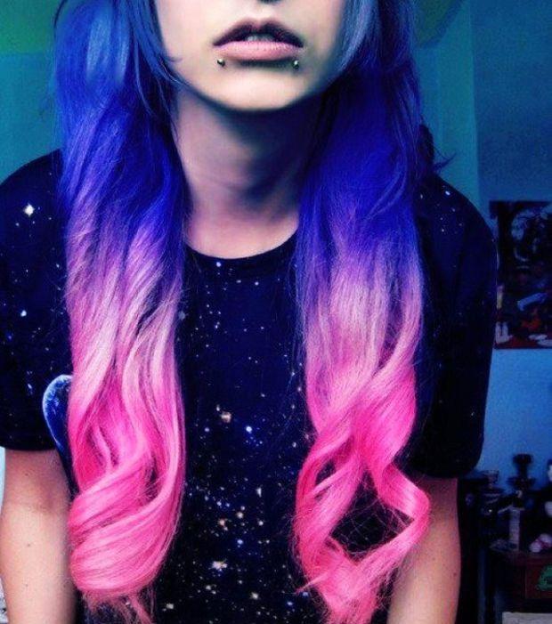 Bien connu Les cheveux galaxy : la tendance coiffure qui cartonne | Tendances  EY37