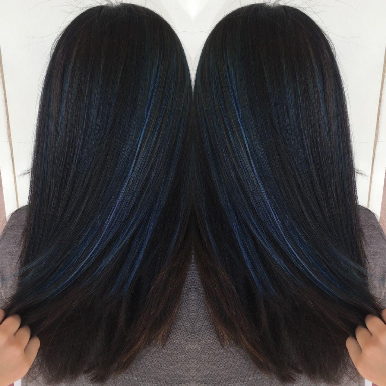 Lowlights On Black Hair Spefashion