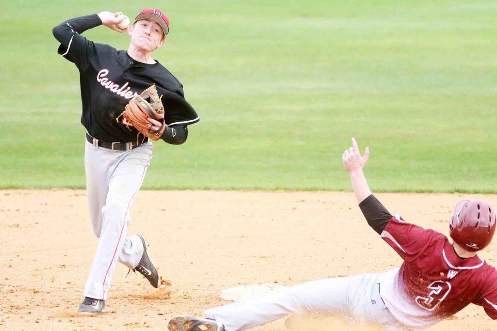 Darton baseball versus wallace statedothan wallace