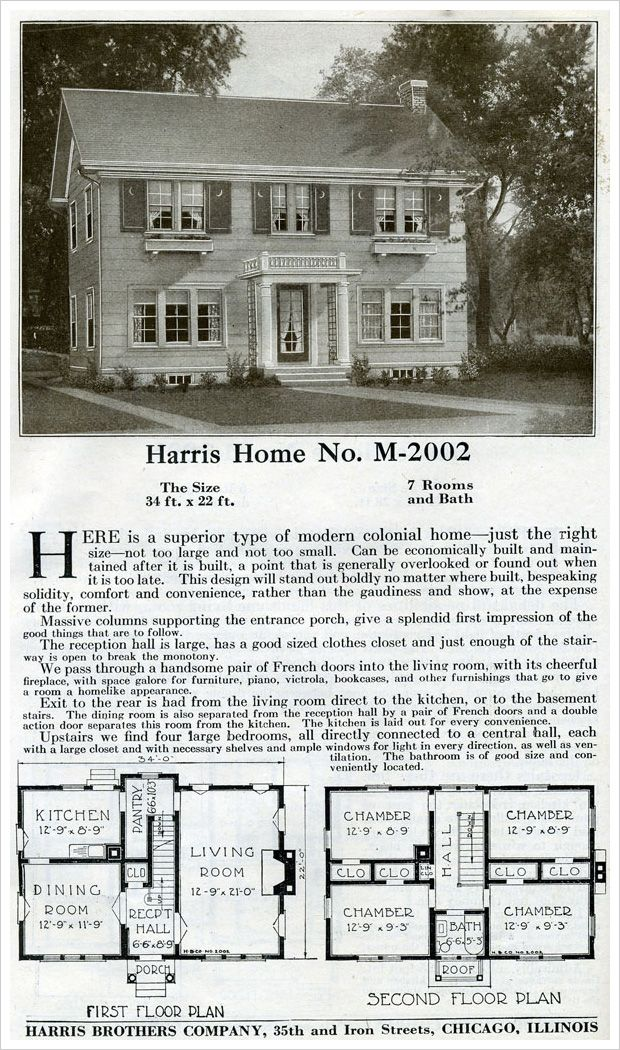 What could be more classic than a side gabled two story for Two story colonial house plans