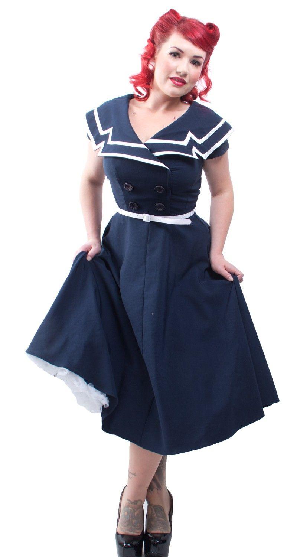 ac50a88c58 Captain Swing Dress - Swing Dresses - Dresses - Womens