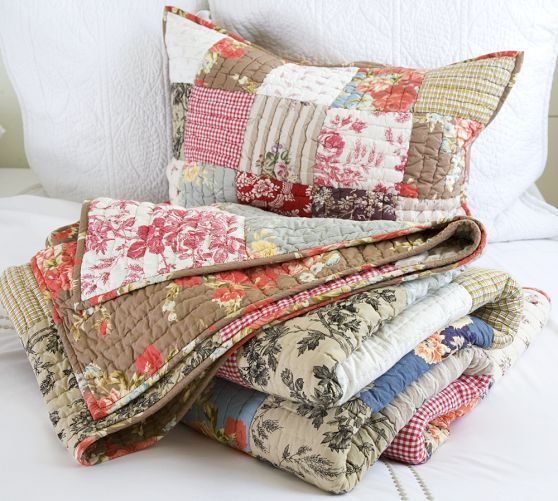 Providence Patchwork Quilt, Twin | Quilts, Home furniture ...
