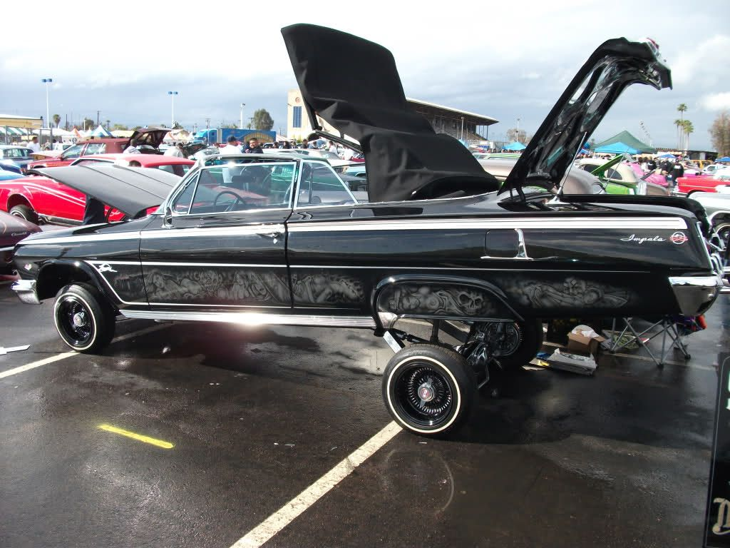 Post 62 impala convertibles only