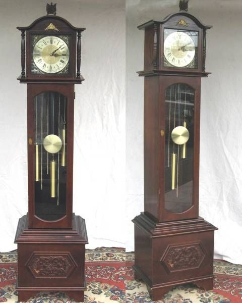 Wall Clock アンティーク柱時計分銅ホールクロック振り子時計 Watch Antique ¥10000yen 〆05月17日