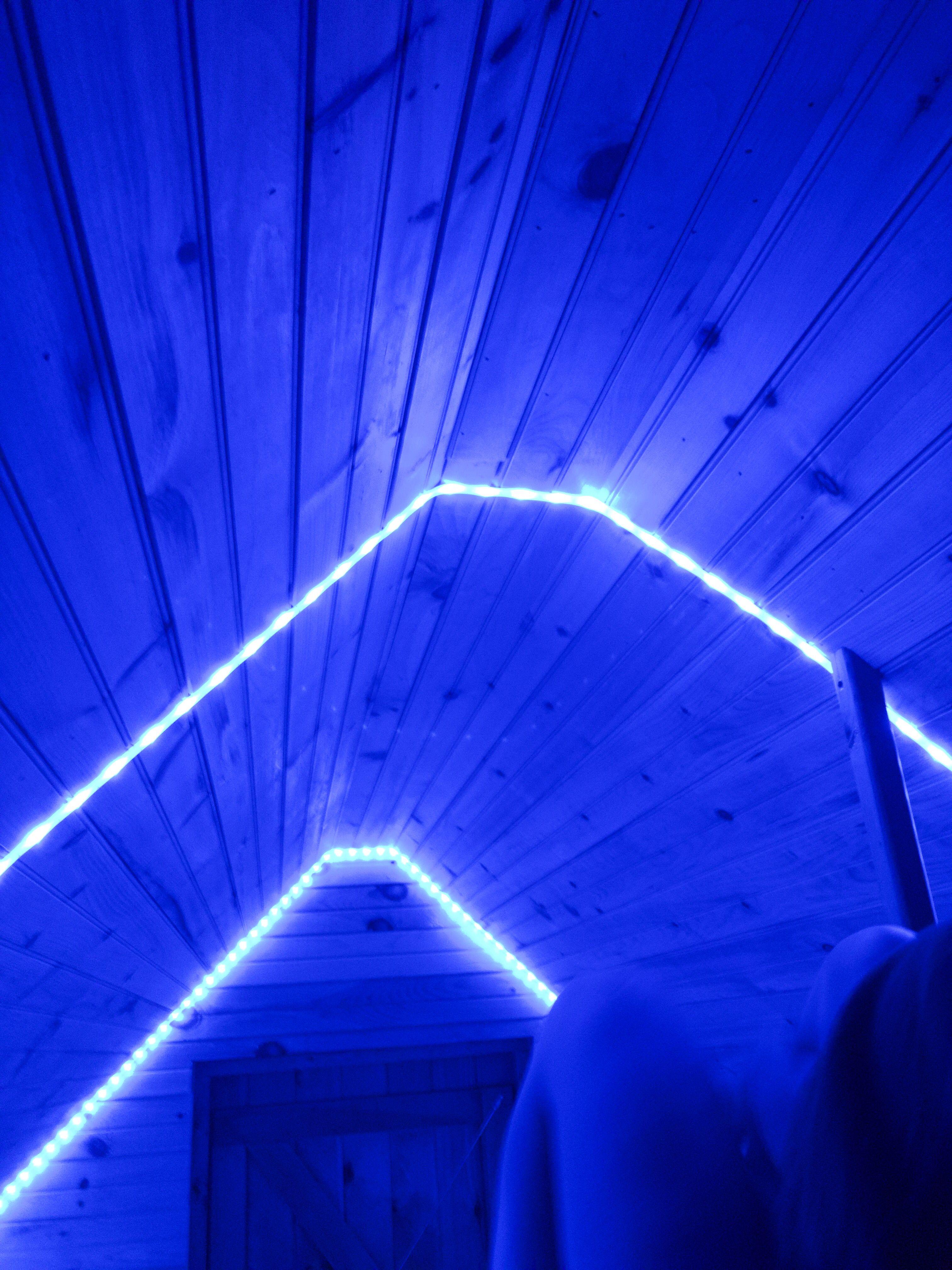 Led Lights In Room Ledlights Diy Roomdecor Decoration