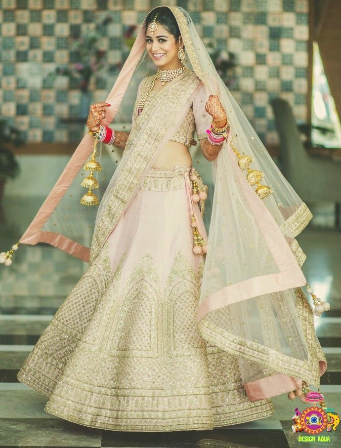 Unique Lehenga Colors In Trend This Wedding Season Weddingplz Bridal Lehenga Bridal Wear Indian Bride