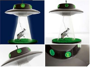 Alien Abduction Lamp UFO Lamps Pictures