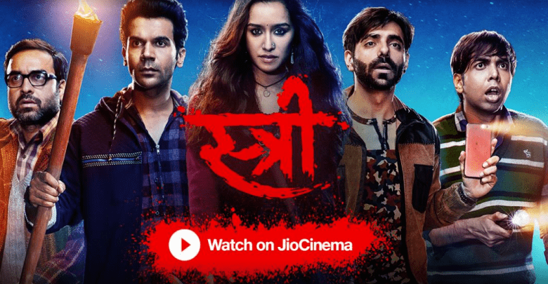 Stree Is Now Streaming Online On Jio Cinema Stree Movie 720p