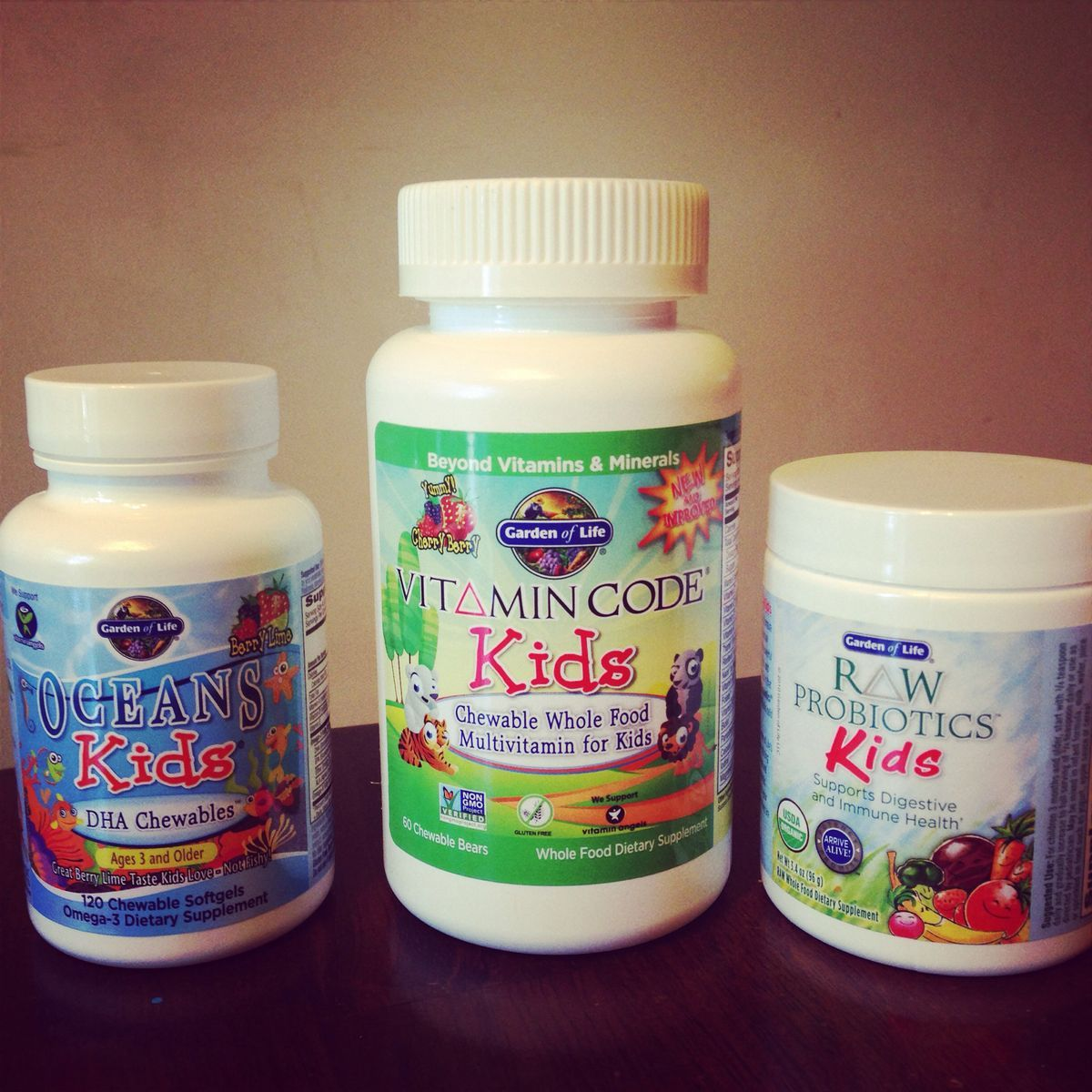 garden of life probiotics kids. We Love Garden Of Life Vitamins And Probiotics! This Is What I Give My 5 Probiotics Kids
