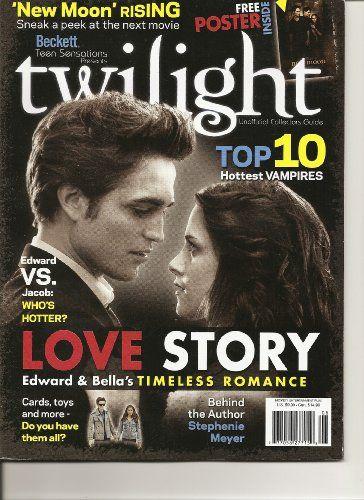 Beckett Teen Sensations Presents Twilight Magazine « Library User Group