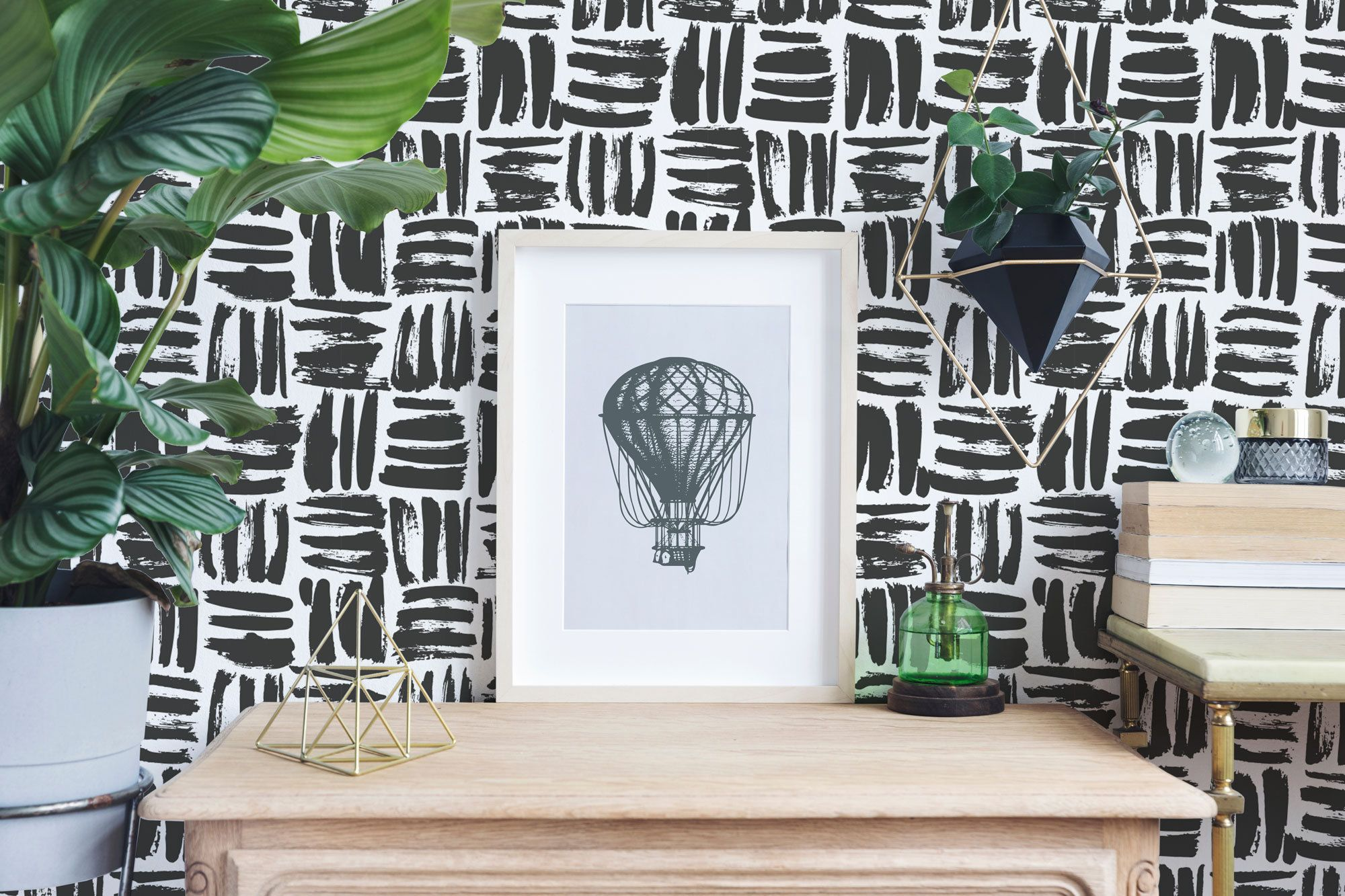 Brushstroke Wallpaper Brush Stroke Peel And Stick Wallpaper Etsy Peel And Stick Wallpaper Wallpaper Colorful Wallpaper