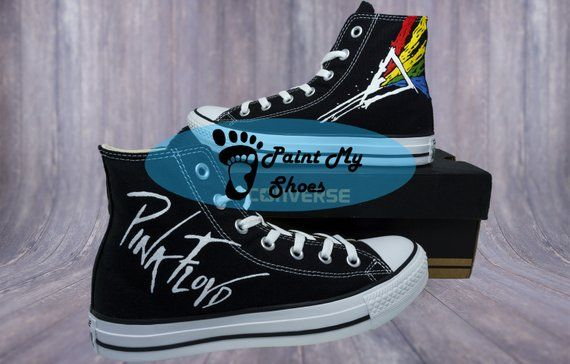 1a73153f0d085 Band shoes, Rock band shoes, converse, custom shoes, hand painted ...
