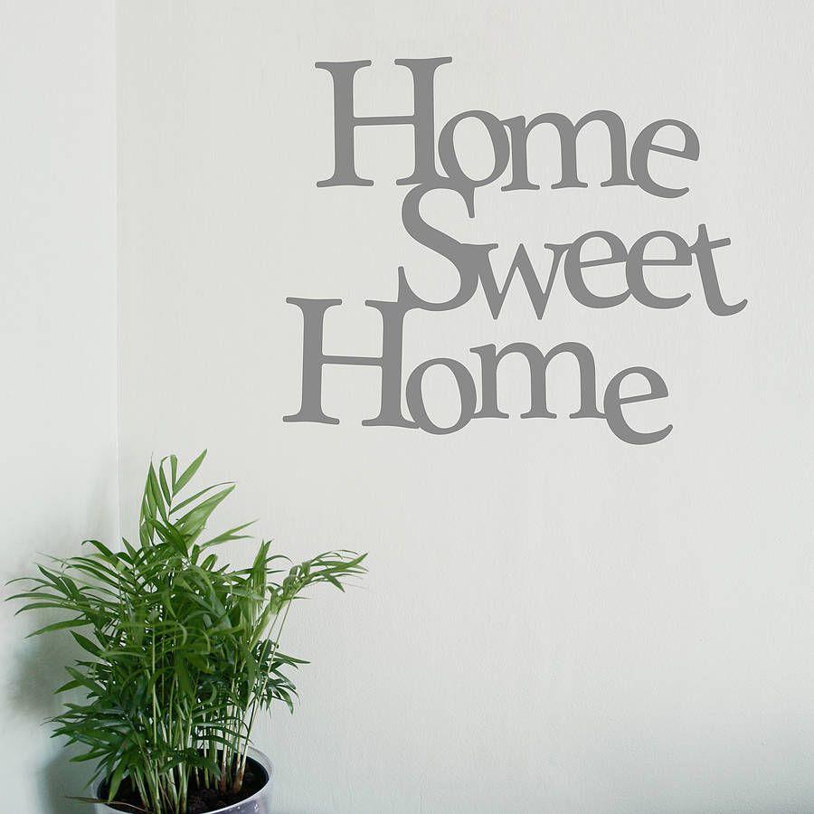 home sweet home wall sticker home design ideas home sweet home vinyl wall sticker part 60
