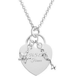 2014 Graduation Necklace with Cubic Zirconia Star