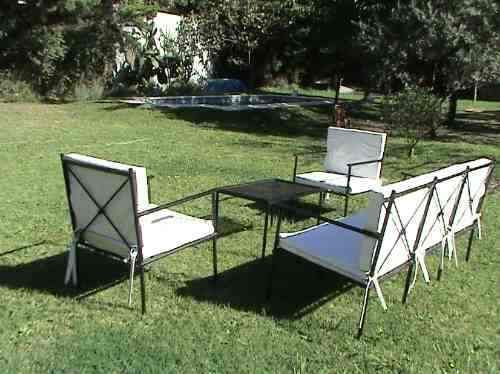 Sillones de hierro buscar con google muebles for Sillones de terraza usados