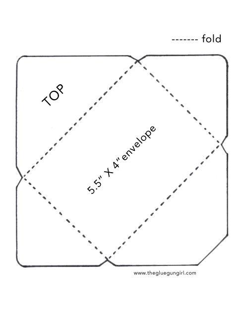C6 Envelop Template 1 Diy Envelope Template Envelope Template Diy Envelope