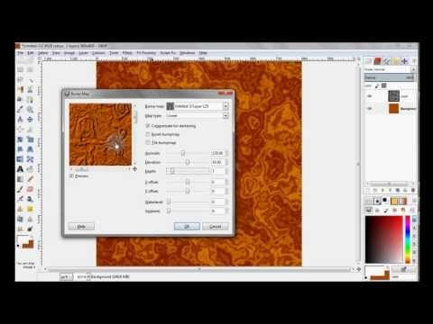 the rust texture gimp tutorial youtube adobe vektorgrafik erstellen fledermaus vektor