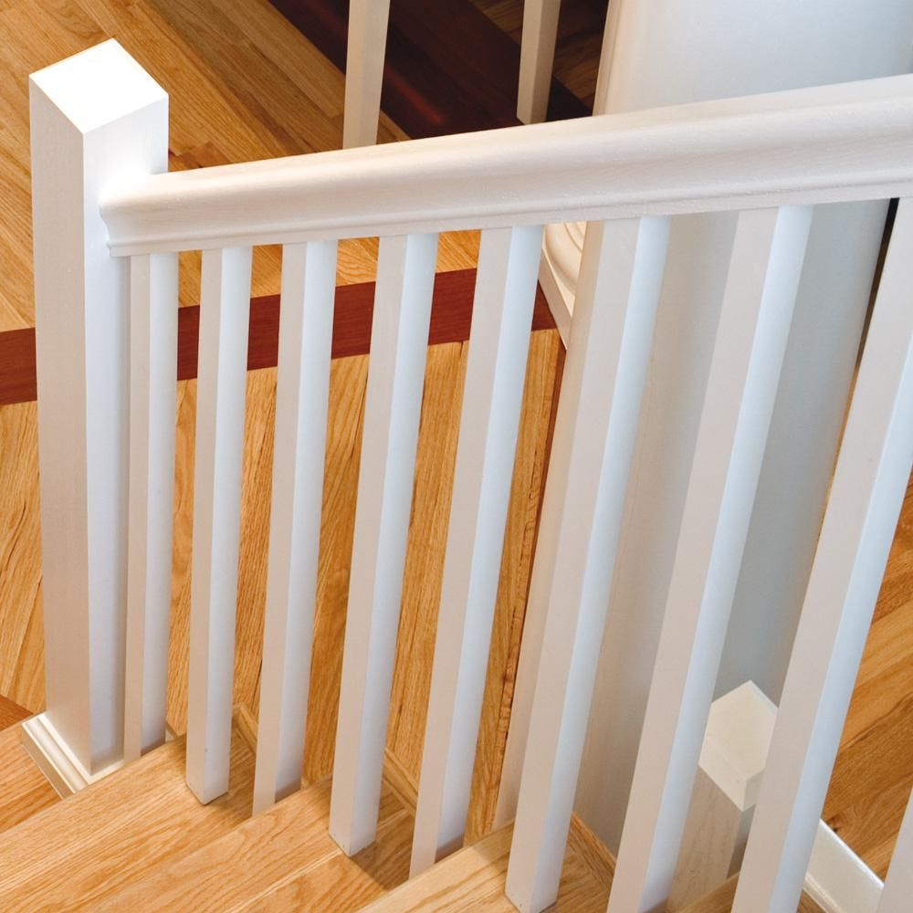Best Stair Parts 41 In X 1 1 4 In Primed Square Baluster 400 x 300