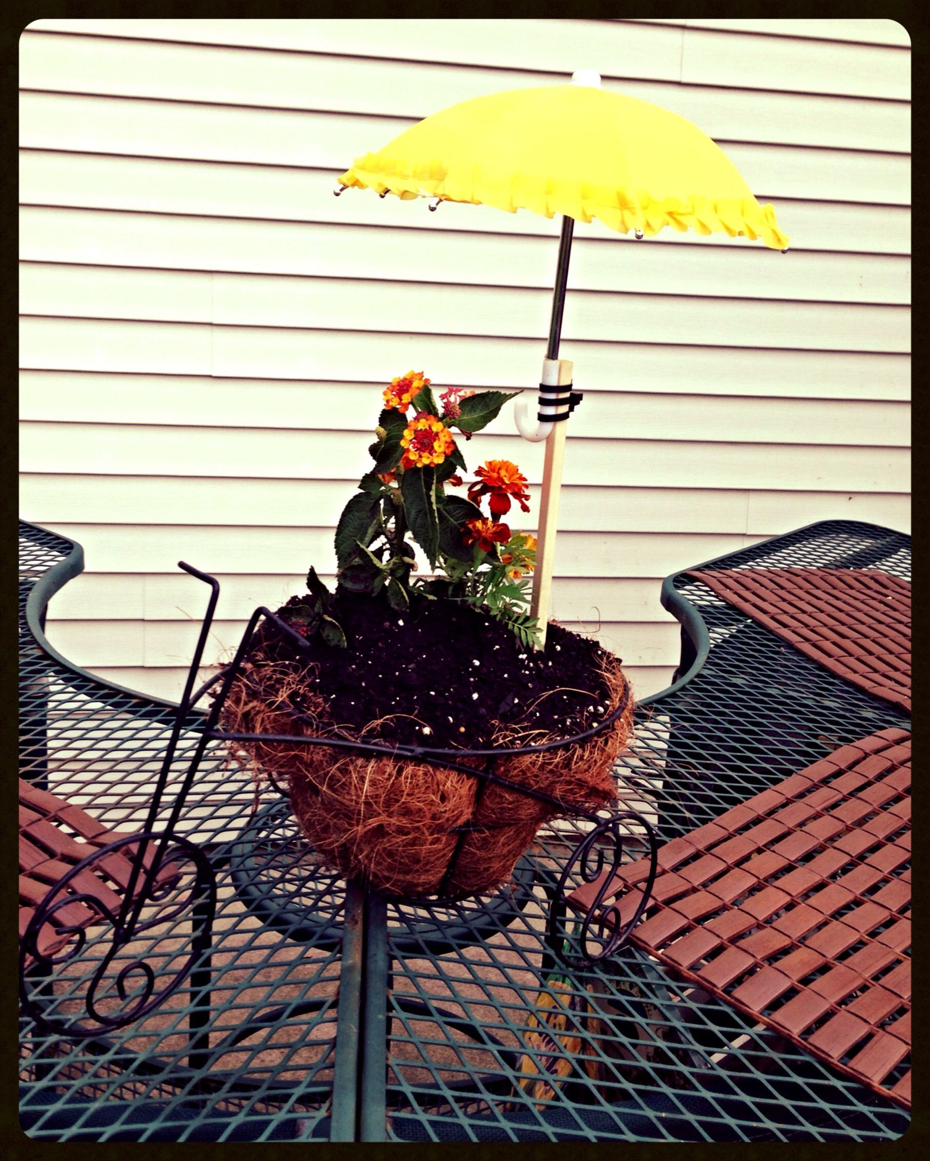Doll Umbrellas To Keep Plant Shaded Upcycled Garden Fairies Fairy