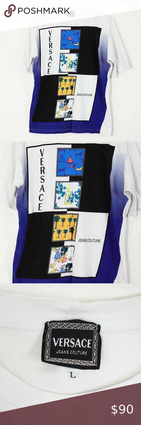 Versace Jeans Couture Logo T Shirt L Versace Jeans Couture Versace Jeans Shirt Versace Jeans