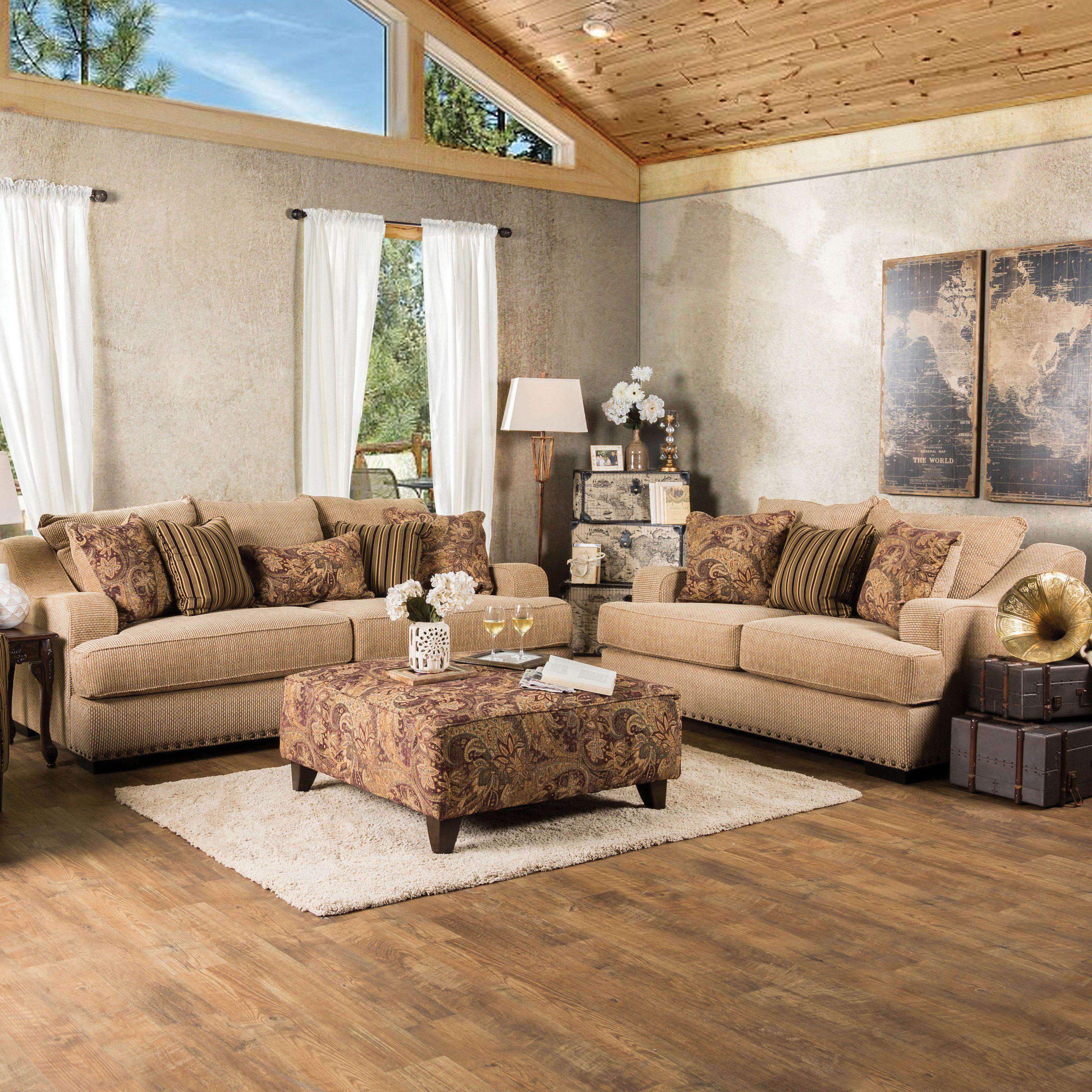 Best Furniture Of America Kamiel 2 Piece Sofa Set Idf 1241 400 x 300
