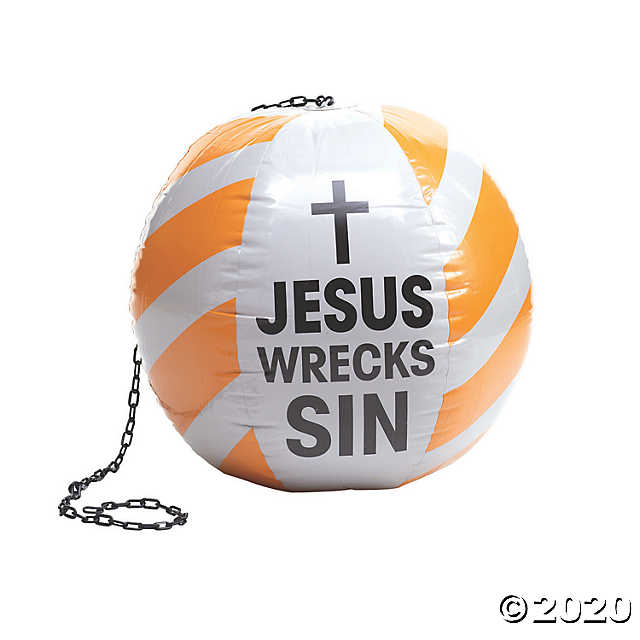 Inflatable Construction Vbs Wrecking Ball Oriental Trading Vbs Themes Vbs Vacation Bible School
