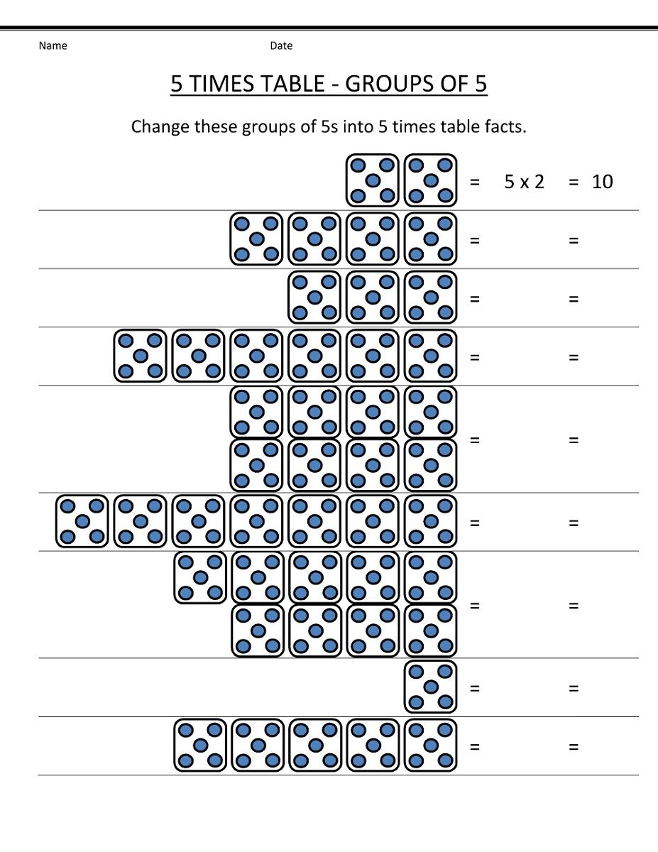 Times Tables Worksheets Circles 1 to 10 Times Tables | 1200x927