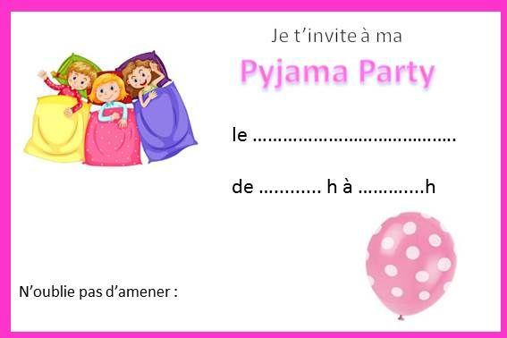 invitation anniversaire