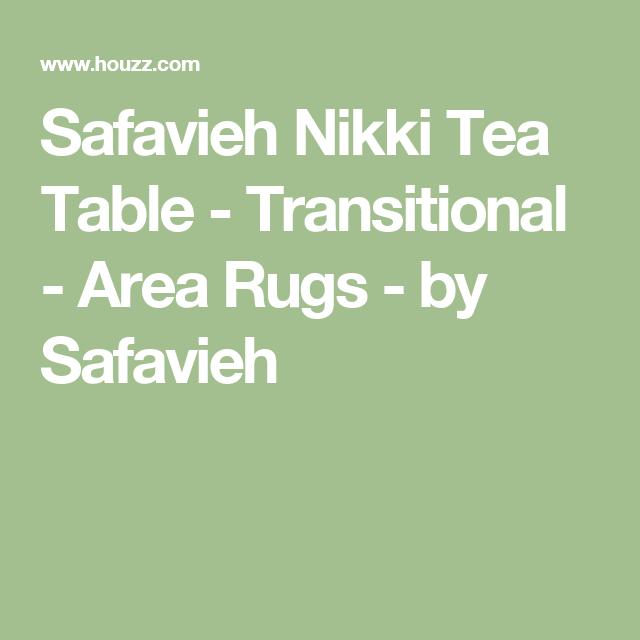 Safavieh Nikki Tea Table - Transitional - Area Rugs - by Safavieh
