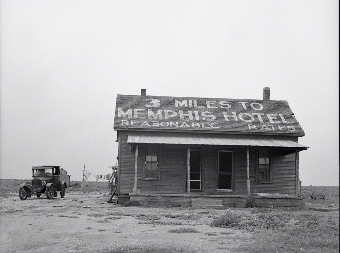 Photographed in 1937(this would be during the Dust Bowl ...