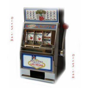 Welcome to Las Vegas Bonus Cherry Slot Machine Bank $22.95 (43% OFF)