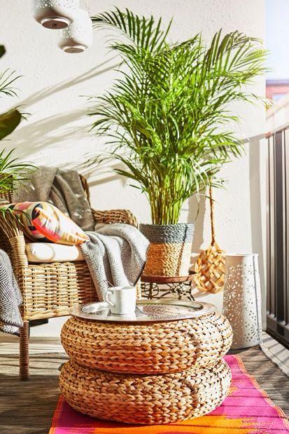 Photo of ALSEDA stool – banana perennial fiber – IKEA