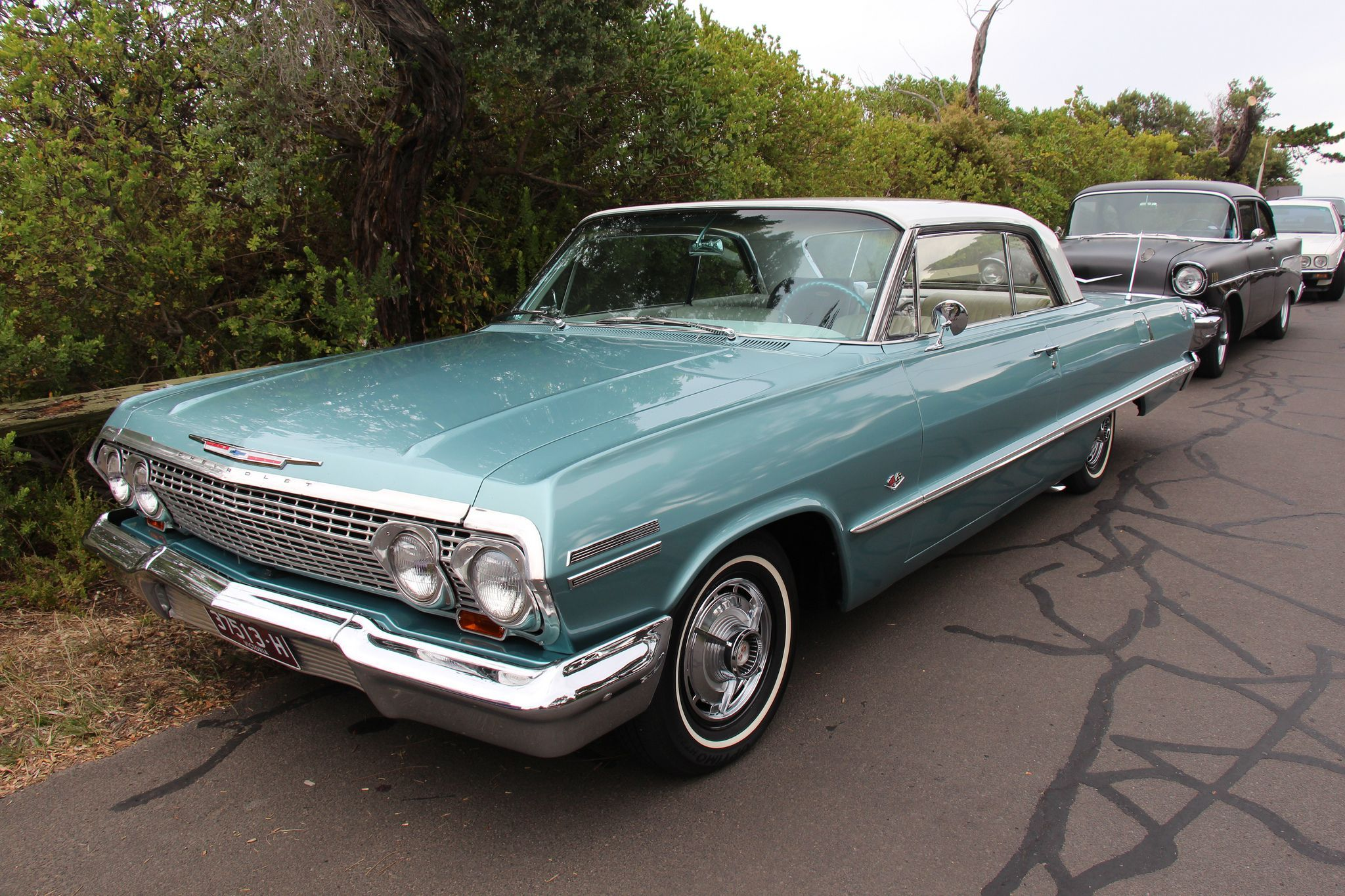 Https Flic Kr P Qkfkro 1963 Chevrolet Impala 2 Door Hardtop Azure Aqua All Sheetmetal Except The Doors Was Changed F Chevrolet Impala Impala Chevrolet