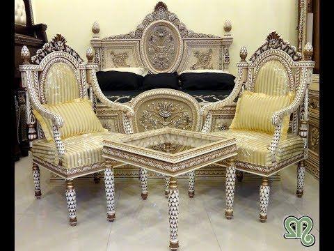 the most beautiful chiniot furniture bed and sofa chair ...