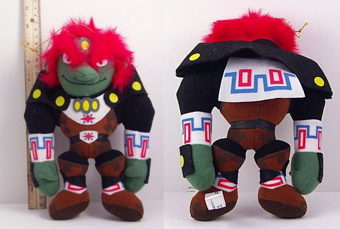 Ganondorf Plush figure from the Legend of Zelda Ocarina of Time (1998) #Ganon