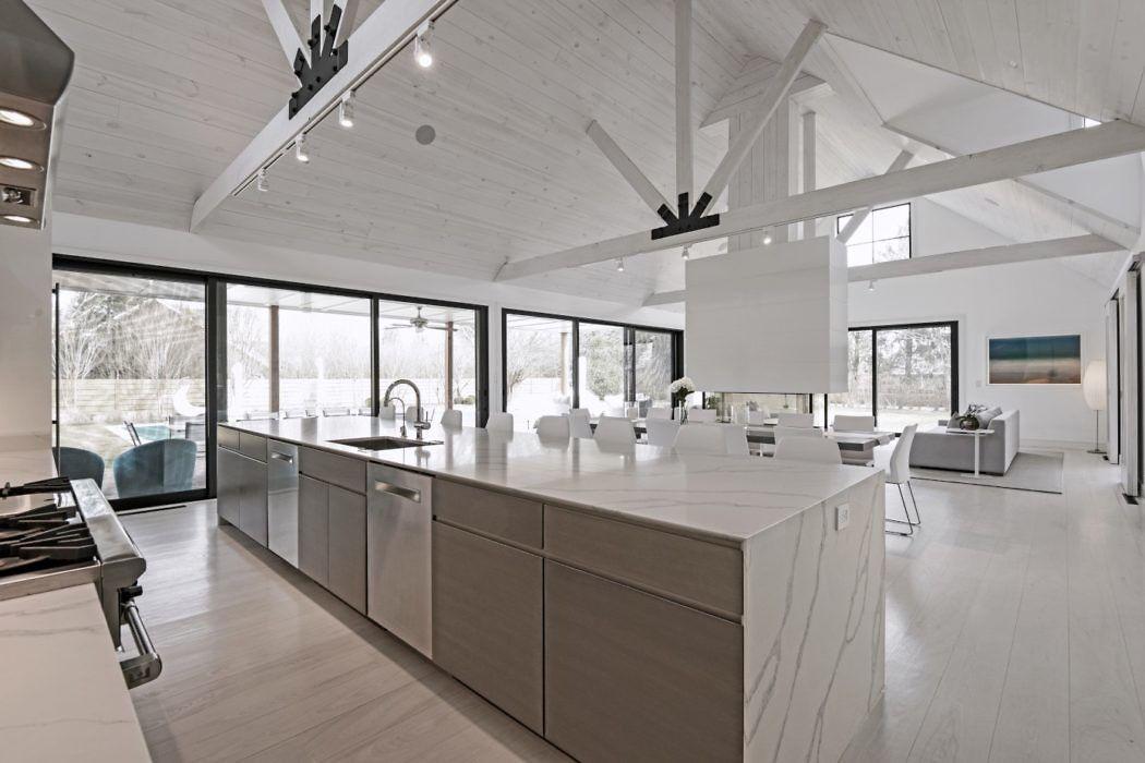 Modern Barn Conversion by Water Mill by Plum Builders « HomeAdore www.fiori.com.au modern kitchen design ideas
