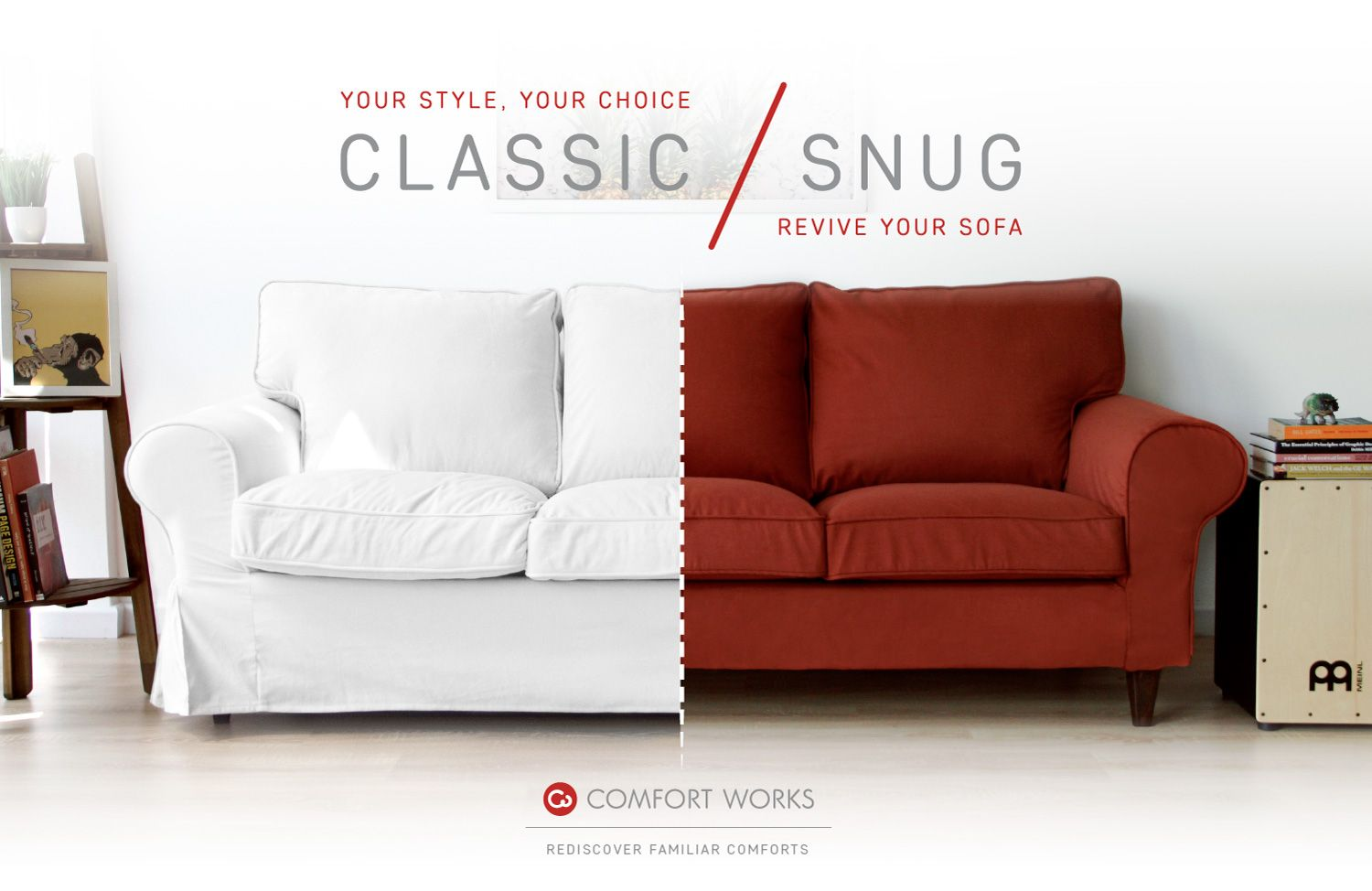 Comfort Works Custom Slipcovers Your